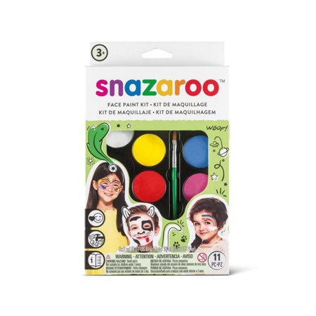 Snazaroo Face Paint Ideas Halloween (Rainbow Face Paint Kit-Rainbow, Suitable For Sensitive Skin - Snazaroo face paints are specially formulated to be friendly to the most delicate skin and are fragrance.., By)