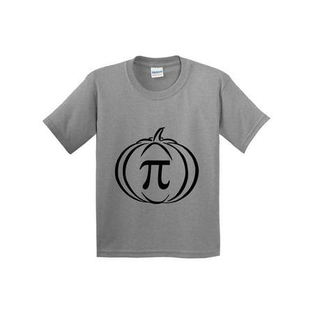eb027b49e Trendy USA - Trendy USA 974 - Youth T-Shirt Pumpkin Pi Pie Math Halloween  Funny Humor XL Heather Grey - Walmart.com