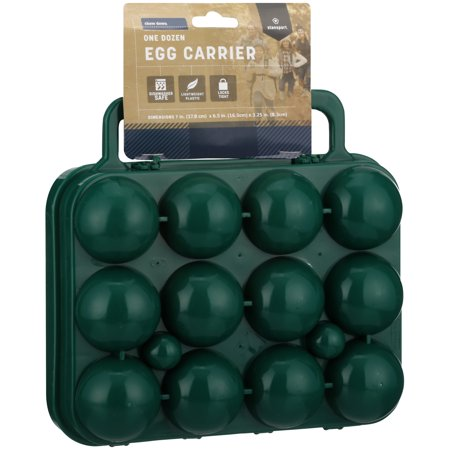 Stansport 266 12 Egg Container Big Green Egg Plate Setter