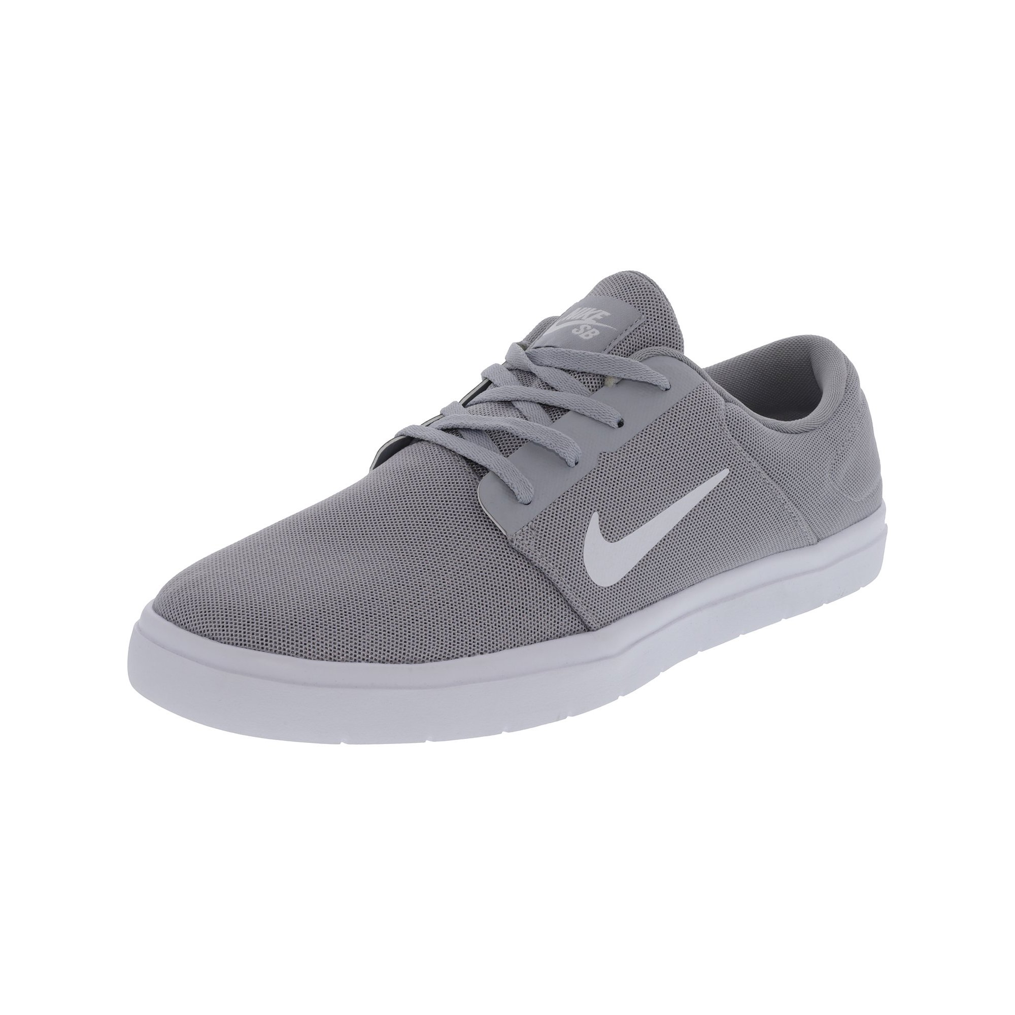 6a889151d3e Nike Men s Sb Portmore Ultralight Black   White-Black Ankle-High  Skateboarding Shoe - 12M