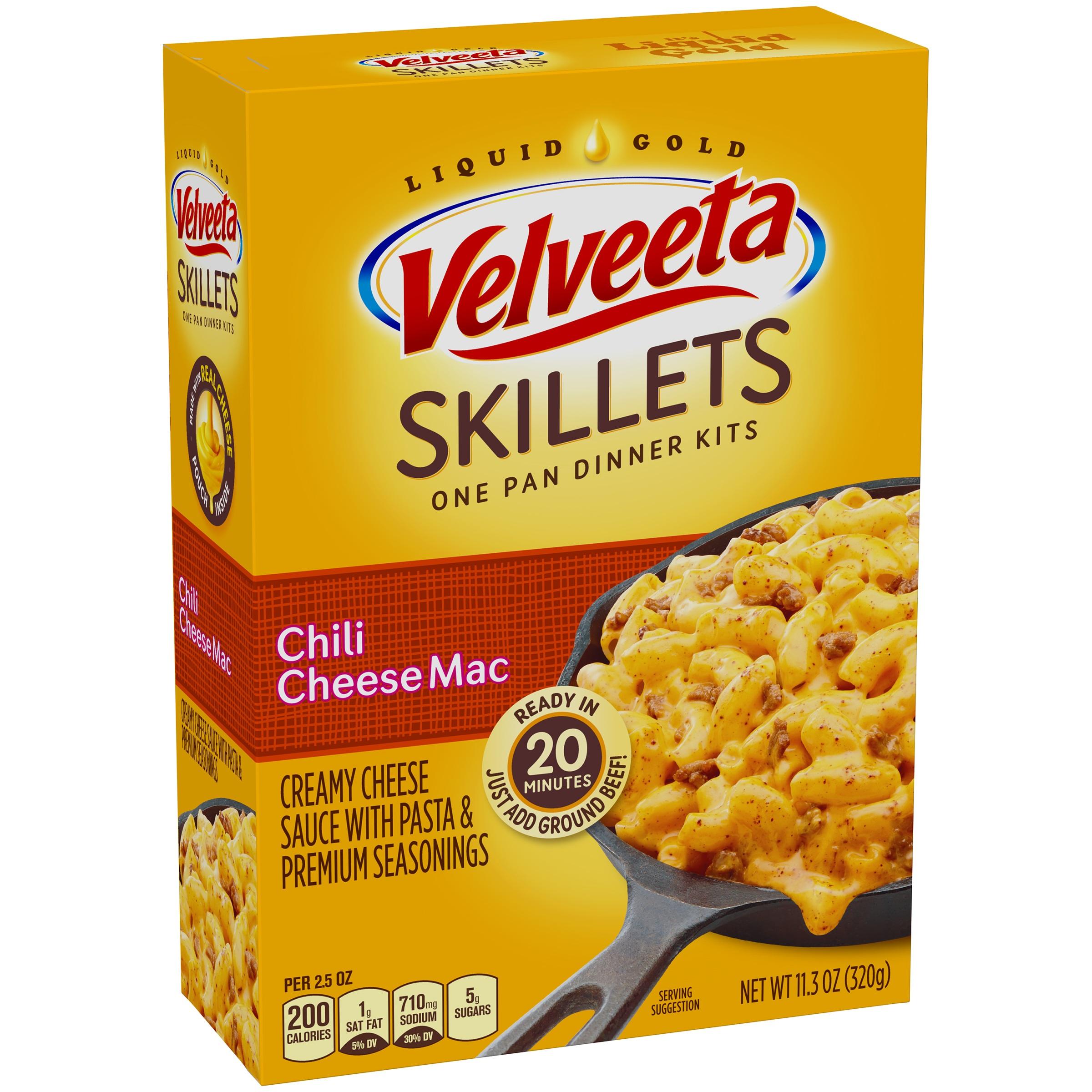 Velveeta Skillets Chili Cheese Mac One Pan Dinner Kit 11.3 oz. Box