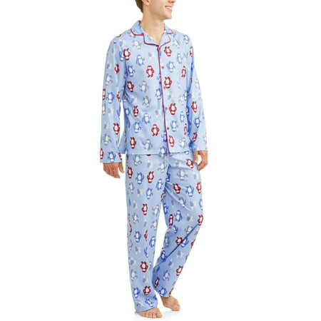 Toast & Jammies Holiday Family Sleep Yeti Notch Collar Pajamas, 2-piece Set - Family Jammies