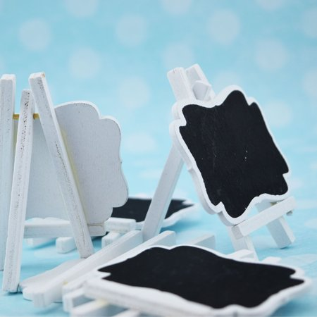 Small Chalkboard with White Border - 6 pack](Small Chalk Boards)
