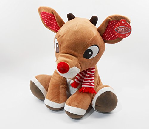 Rudolph The Red Nosed Reindeer Large 14 Inch 35 56 Cm Plush Toy