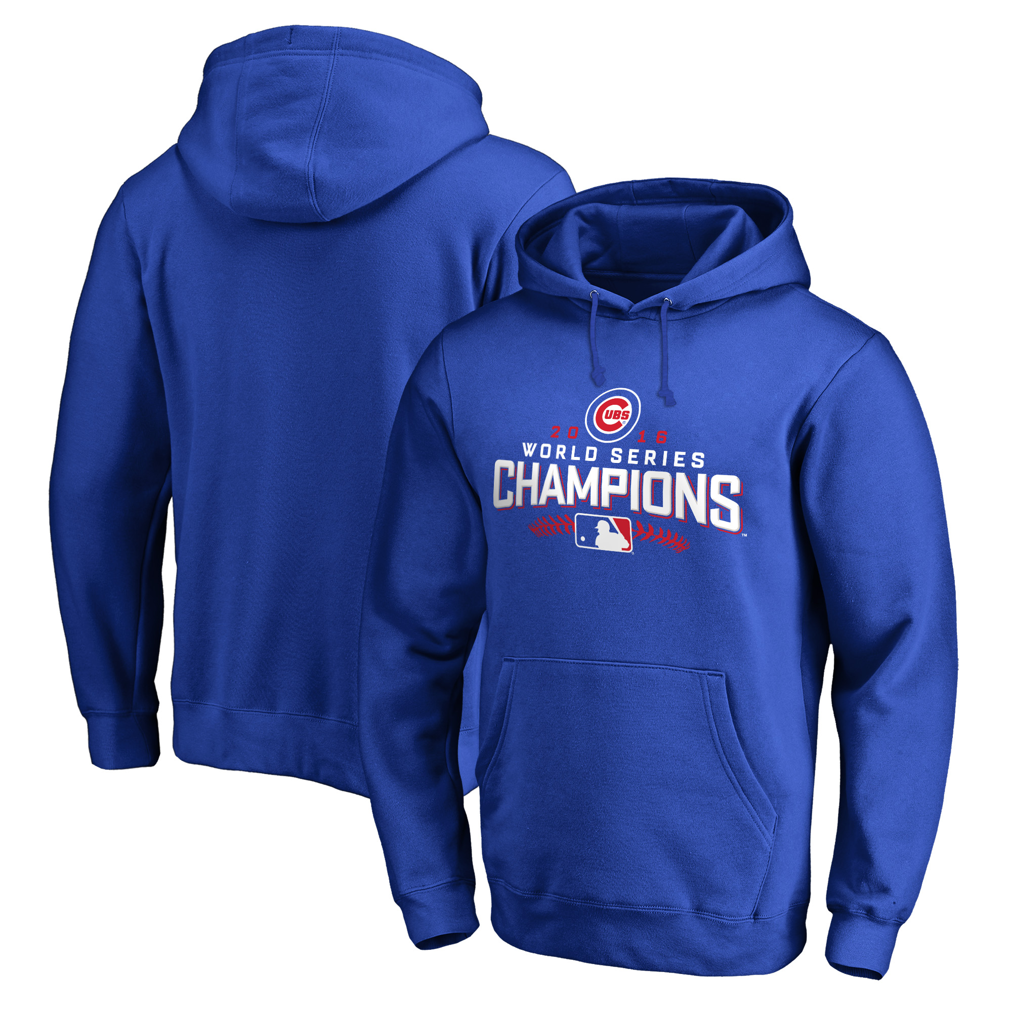 Chicago Cubs 2016 World Series Champions Walk Pullover Hoodie - Royal
