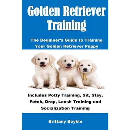 Golden Retriever Training : The Beginner's Guide to Training Your Golden Retriever Puppy: Includes Potty Training, Sit, Stay, Fetch, Drop, Leash Training and Socialization