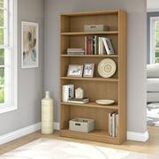 Bush Universal 5-Shelf standard Bookcase, Multiple Finishes