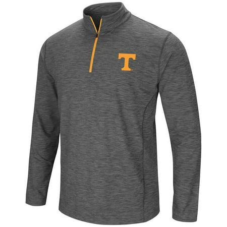 (Mens Tennessee Volunteers Action Pass Long Sleeve Quarter Zip Wind Shirt)