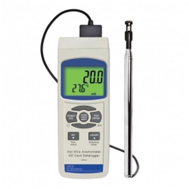 Sper Scientific 850024 Hot Wire Anemometer SD Card Logger by Sper Scientific
