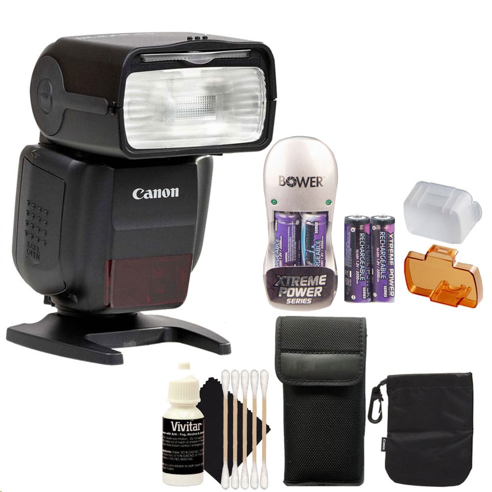 Canon Speedlite 430EX III-RT Flash for EOS Digital SLR Ca...
