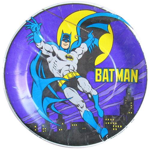 Batman Vintage 1989 Small Paper Plates (8ct)