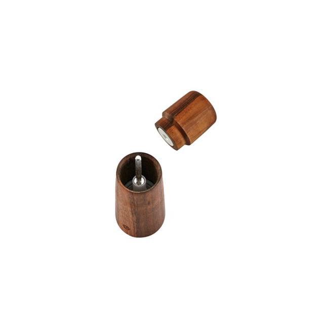 CrushGrind 070130-2031 Stockholm 168 mm Walnut Wooden Salt & Pepper Mill or Grinder, Black Walnut by CrushGrind