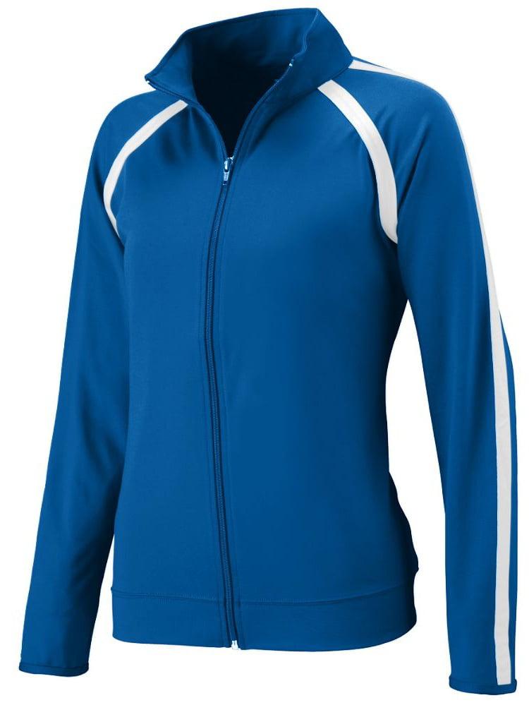 Augusta Sportswear Girls' POLY/SPANDEX JACKET 4701