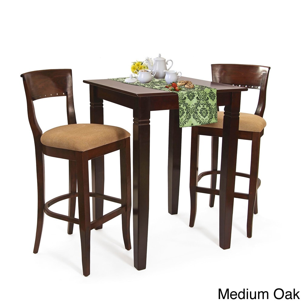 Beechwood Mountain LLC Biedermier 3-piece Bar Set by Overstock