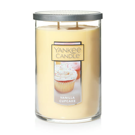 Yankee Candle Large 2-Wick Tumbler Candle, Vanilla Cupcake - Yankee Candle Halloween Party 2017