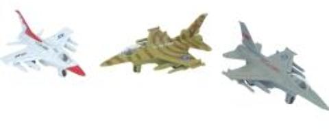 Die Cast Military Plane Case Pack 24 by