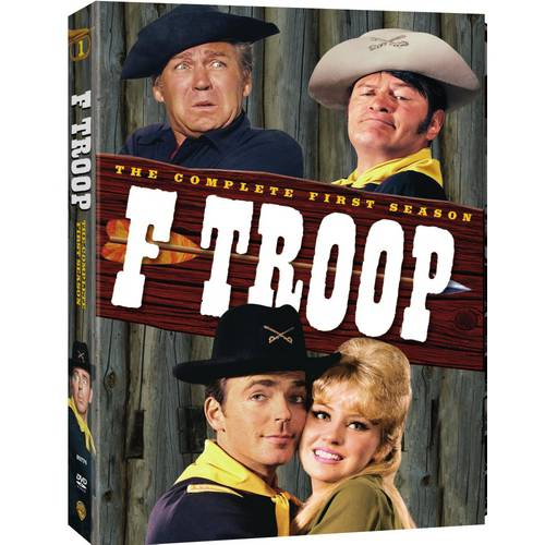 F-TROOP-COMPLETE 1ST SEASON (DVD/6 DISC/P&S-1.33/FR-SP SUB)