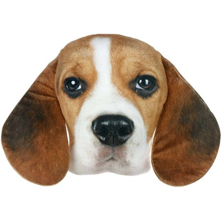 Beagle Dog Plush Photo Real Pillow Walmart Com