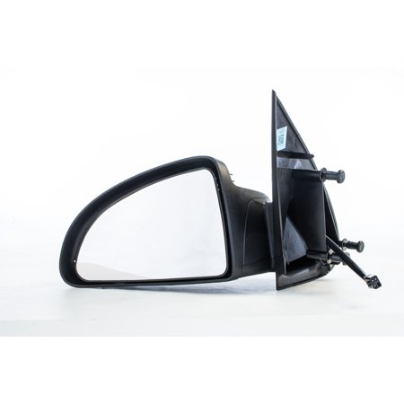 GM1320289 Left Driver Side Black Folding Mirror for 05-10 Chevy Cobalt Coupe (09 Chevy Cobalt Mirror)