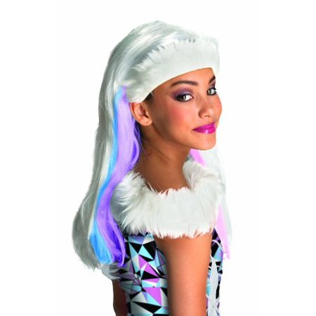 Monster High Abbey Bominable Child's - Abbey Bominable Halloween Makeup