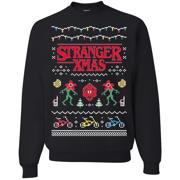 Stranger Xmas   Mens Ugly Christmas Sweatshirt