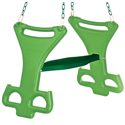 Backyard Discovery Two Person Glider Swing Set