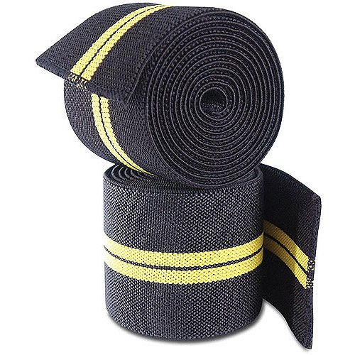 Gold's Gym Knee Wraps, Pair