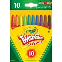 Crayola Mini-Twistables Crayons, 10 Count