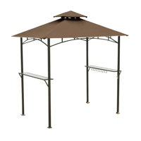 Garden Winds Replacement Canopy Top Cover for the Mainstays Grill Shelter Gazebo - Nutmeg