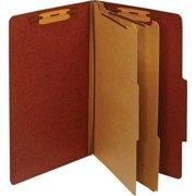 Pendaflex, PFXPU64RED, Legal Classification Folders, 1 Each, Red