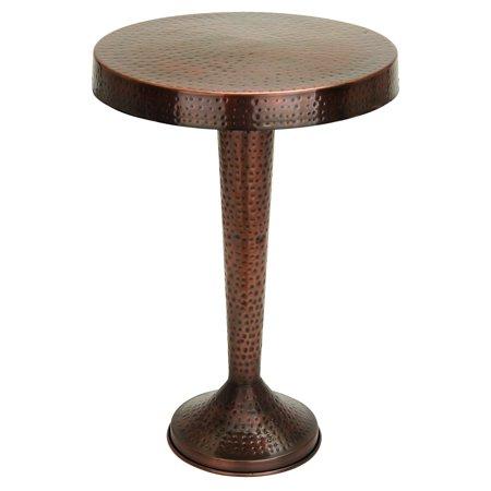 Benzara Vintage Inspire Metal Accent Table