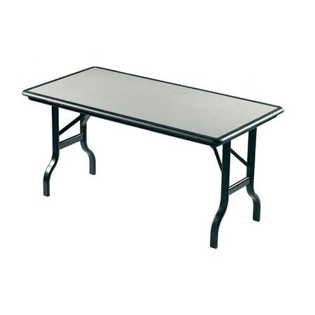 "Iceberg IndestrucTable Folding Table, 30""x72"", Granite"