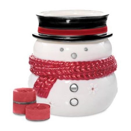 Yankee Candle Holiday Luminary Snowman Gift (Relax Luminary Candle)