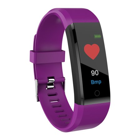 Sports Smart Watch Fitness Smart Bracelet Blood Pressure Heart Rate Sleeping Monitor Distance Calories Step Counter Message Call Reminder Smart Sports Wristband - image 3 of 7