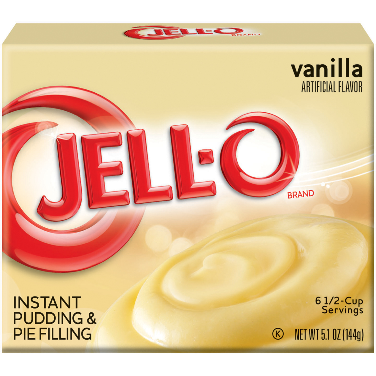 PUDDING JELLO INSTANT VANILLA 24-5.1 OUNCE