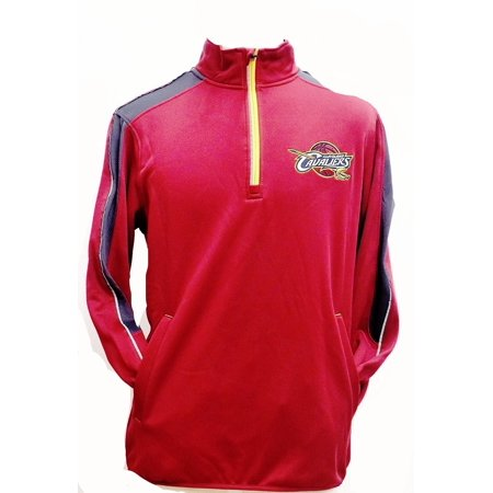 (Cleveland Cavaliers Synergy Half -Zip Pullover Jacket)
