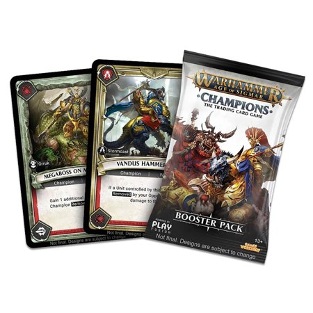 Warhammer Age of Sigmar Champions Trading Card Game Booster Pack [13 (Champions Pack For The Quake Champions Game)