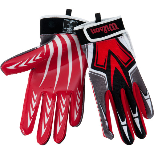 Wilson Super Grip Youth Receiver Glove- Small
