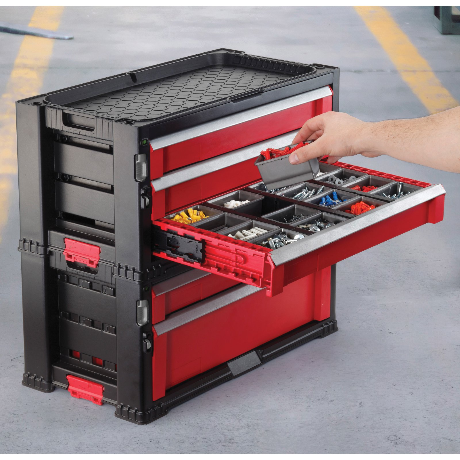 Keter 5 Drawer Tool Chest System by Keter North America