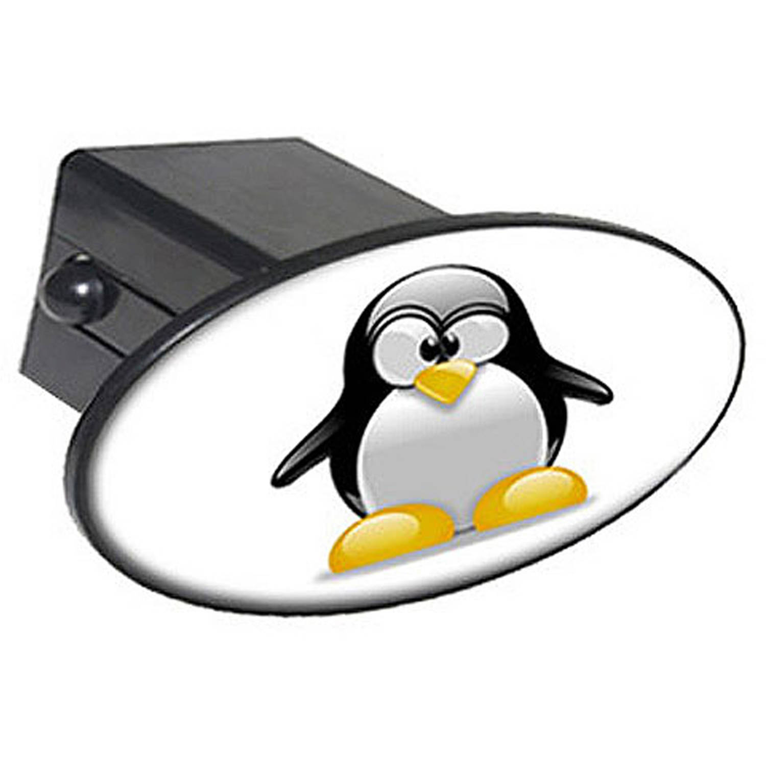 "Penguin Snow Bird 2"" Oval Tow Trailer Hitch Cover Plug Insert"