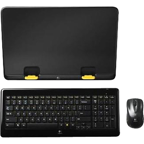 Logitech Notebook Kit MK605 Keyboard, Mouse, and Laptop Stand