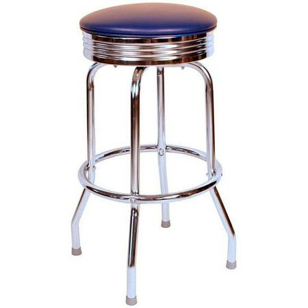 1950s Style Bar Stool - Richardson Seating Retro Home 24'' Swivel Bar Stool