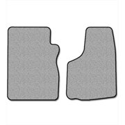 Averys Floor Mats 1235-718 Custom-Fit Nylon Carpeted Floor Mats For 1999-2004 Ford F-250 & F-350 Super Duty, Gray