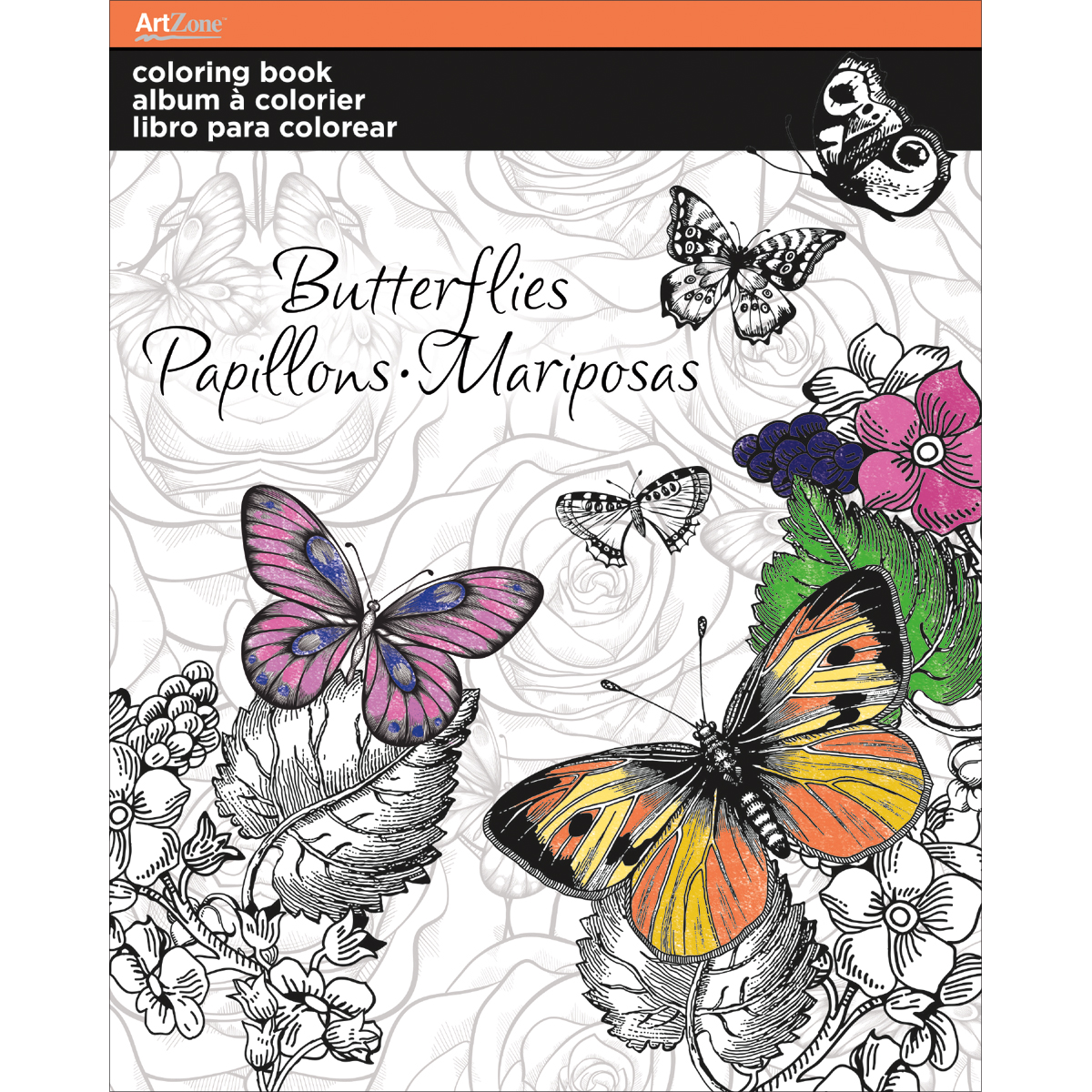 Trends Coloring Book -Butterfly