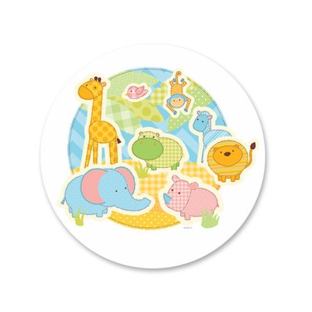 Giraffe Baby Shower Edible Icing Image Cake Decoration Topper -1/4 Sheet