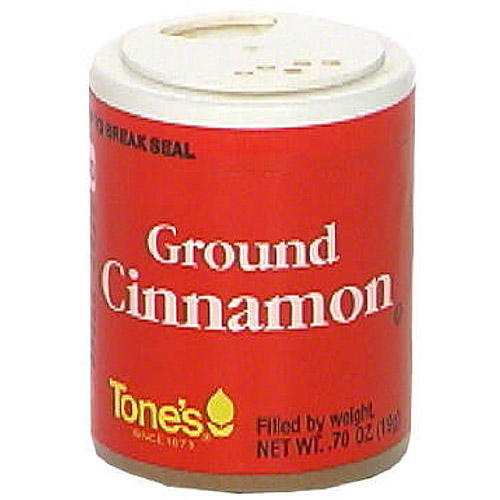 Tone's Ground Cinnamon, 0.70 oz (Pack of 6)