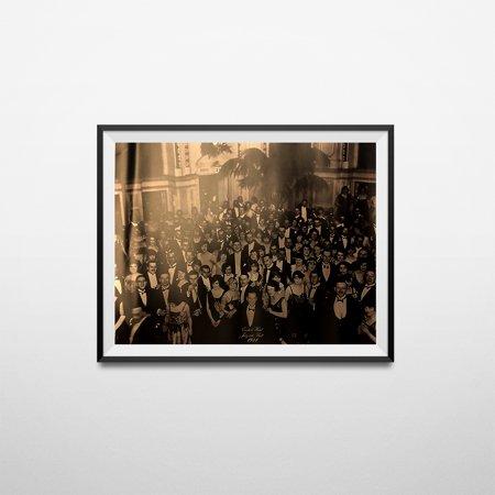 Poster Photo Jack - The Shining Overlook Hotel Ballroom Photograph Jack Nicholson Movie Poster Print