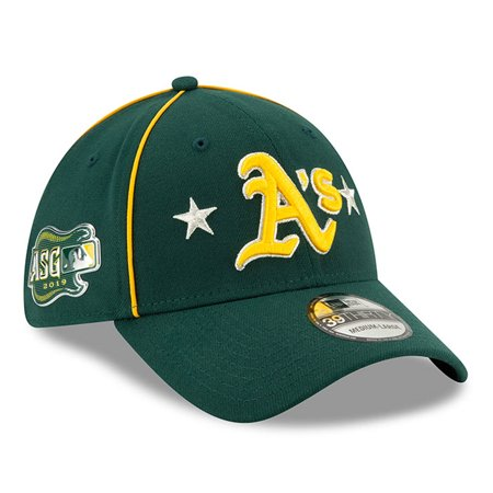 Oakland Athletics New Era 2019 MLB All-Star Game 39THIRTY Flex Hat - (Best Mtb Helmet Light 2019)