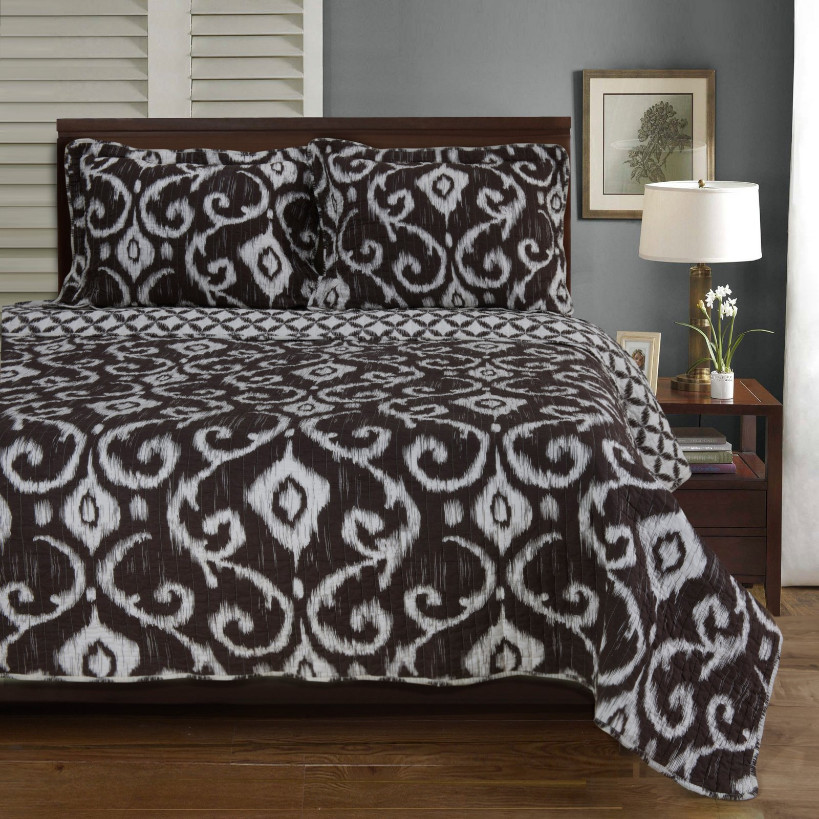 Superior Cambridge Soft Cotton Quilt Set