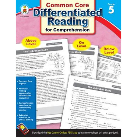 Differentiated Reading for Comprehension, Grade - Halloween Reading Comprehension Grade 5